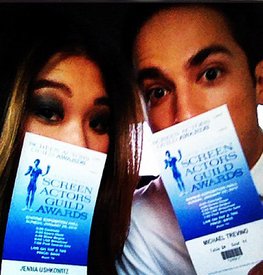 SAG Awards 2012: See the Celebrity TwitPics!