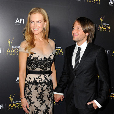 Nicole Kidman, Liam Hemsworth, Joel Edgerton, Meryl Streep Pictures at 2012 AACTA International Awards