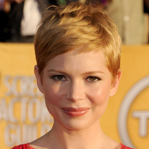 Michelle Williams' Hair and Makeup at the 2012 SAG Awards