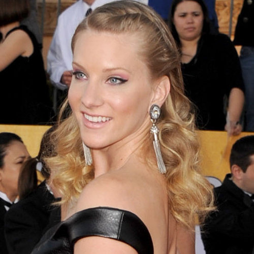 Heather Morris' Hair and Makeup at the 2012 SAG Awards