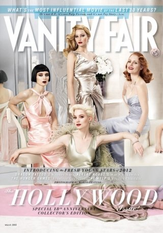 Vanity Fair March 2012 Cover