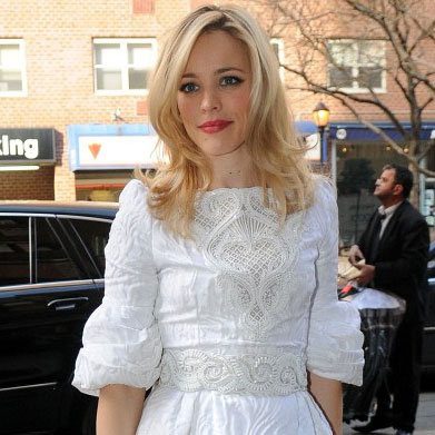 Rachel McAdams Promotes The Vow on GMA Pictures