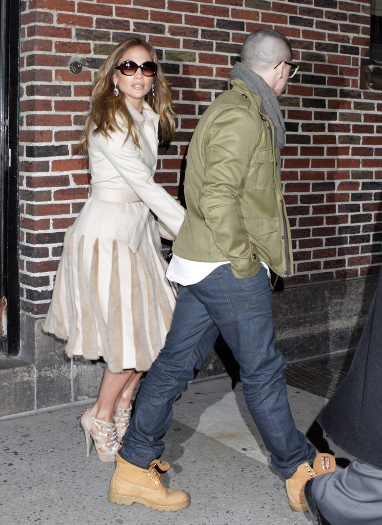Jennifer Lopez and Casper Smart held hands in NYC.