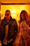 Jennifer Lopez and Casper Smart went to dinner together in NYC.