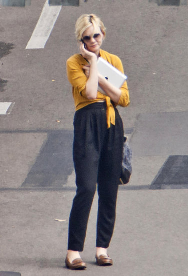 Carey Mulligan in Australia.