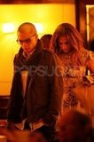 Jennifer Lopez and Casper Smart dined at NYC's Cipriani restaurant.