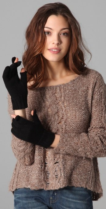 These texting gloves are super simple, chic, and make texting in the Winter way easier. Bop Basics Texting Gloves ($55)