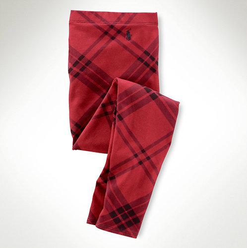Ralph Lauren Cotton Plaid Legging ($30)