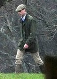 Prince William wore outdoor gear on New Year's Eve.