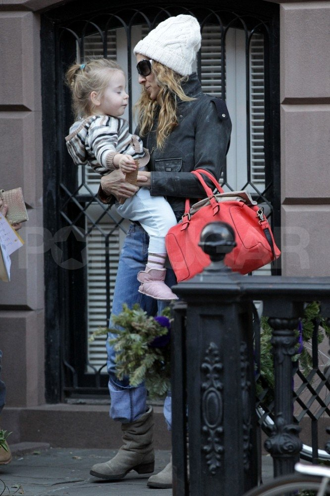 Sarah Jessica Parker left home with Loretta.