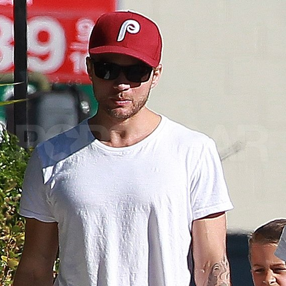 Ryan Phillippe wore a Phillies cap.
