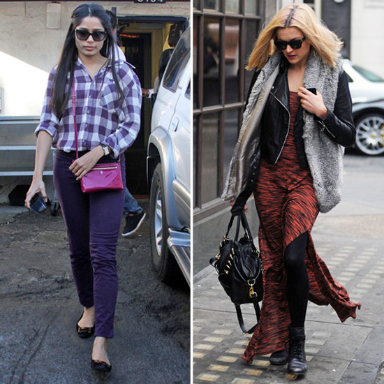 Found! Aubergine J Brands, Slitted Maxi, and More Celeb Must Haves