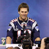 Tom Brady Before Super Bowl 46 in Indiana Pictures