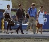 Pippa Middleton, James Middleton, Kate Middleton, and Prince William looked chic on vacation.
