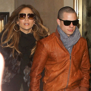 Jennifer Lopez With Boyfriend Casper Smart in NYC Pictures