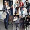 Celebrities Wearing Biker Boots 2012