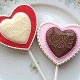 Heart Shaped LOVE Cookie Sandwich Pops (Two For $10)
