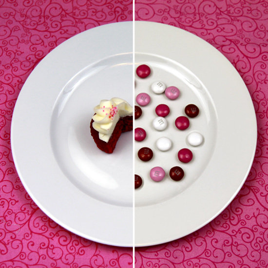 What 100 Calories Really Looks Like: Valentine's Day Treats