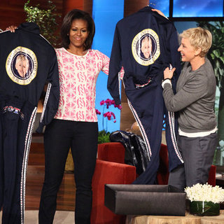 Michelle Obama on Ellen DeGeneres Show