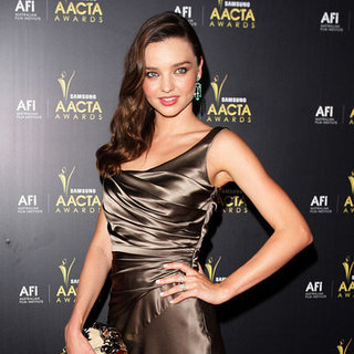 2012 AACTA Awards Celebrity Red Carpet Pictures with Miranda Kerr, Megan Gale, Cate Blanchett
