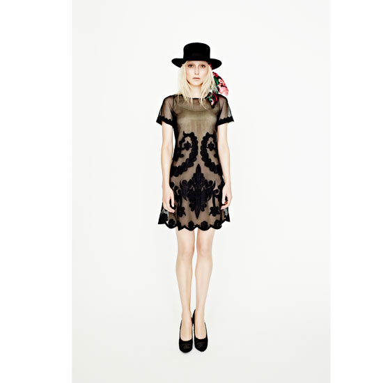 Heavenly Havana Short Sleeved Appliqué Dress, $299.