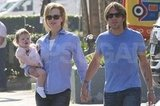 Nicole Kidman held hands with husband Keith Urban.