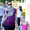 Jennifer Garner Maternity Fashion Third Pregnancy