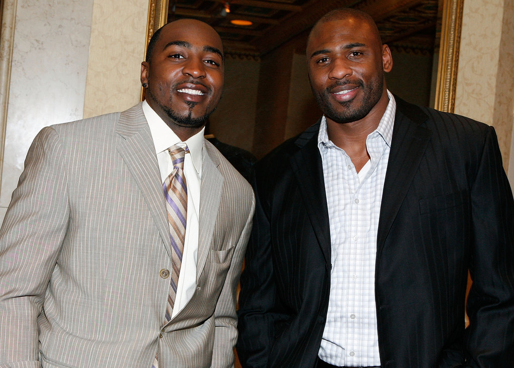 Hakeem Nick and Brandon Jacobs, Giants