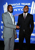 Mathias Kiwanuka and Ramses Barden, Giants