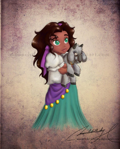 Child Princess Esmeralda