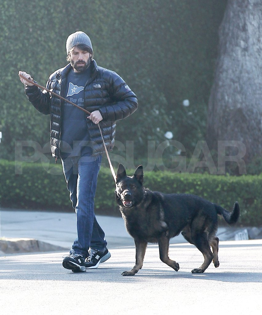 Ben Affleck spent time with his best pal.