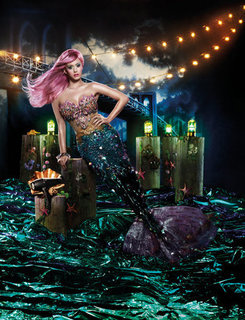 Exclusive: Katy Perry Dresses as The Little Mermaid For GHd Air Ads