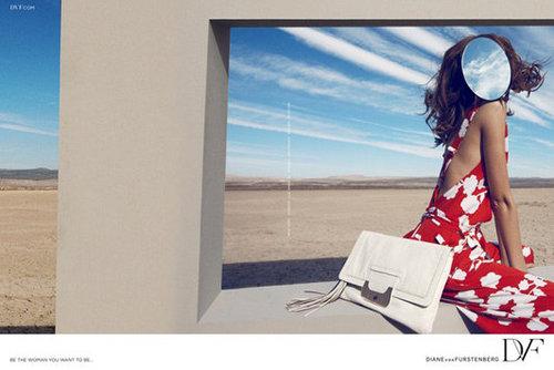 Diane von Furstenberg Spring 2012 Ad Campaign