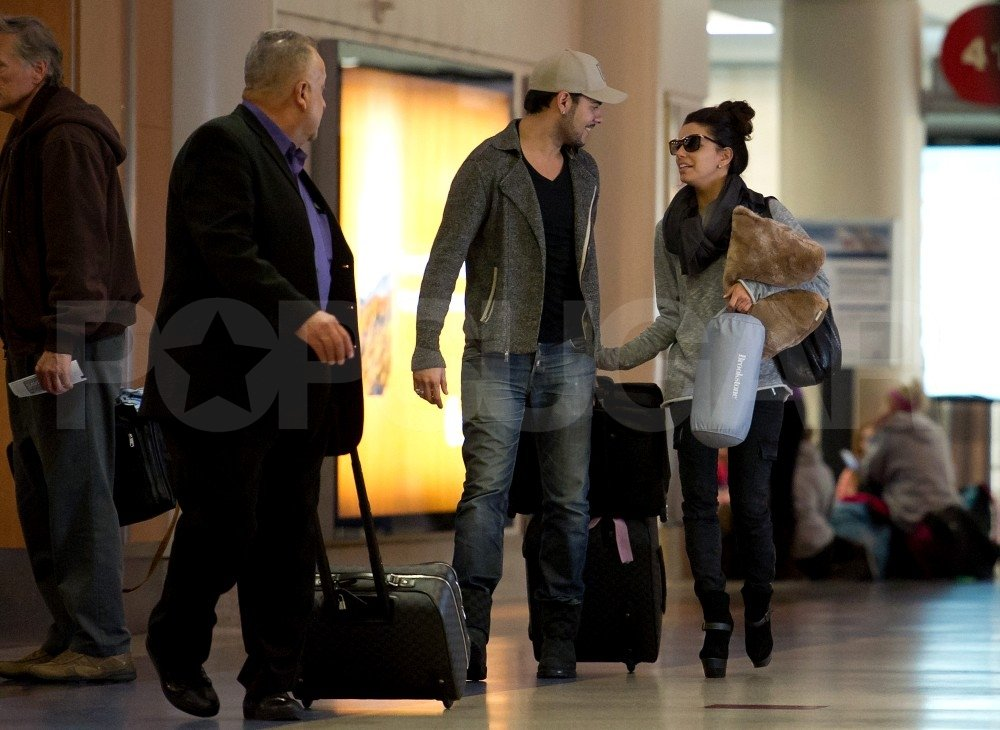 Eva Longoria and boyfriend Eduardo Cruz were together in LA.