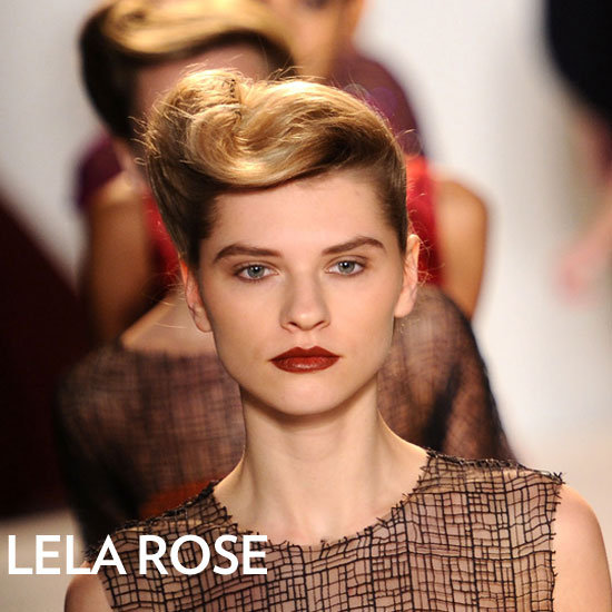 Lela Rose Fall 2012 Beauty Look