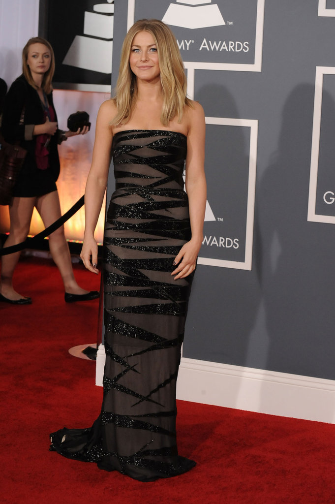 Julianne Hough at the Grammys.