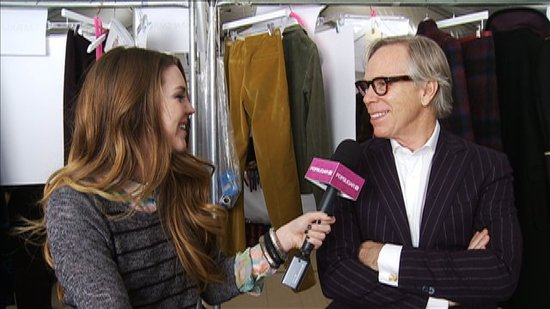 Tommy Hilfiger Gives Us His Go-To Style Tip!