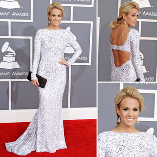 Carrie Underwood at Grammys 2012