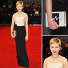 Michelle Williams in H&M at BAFTA Awards 2012