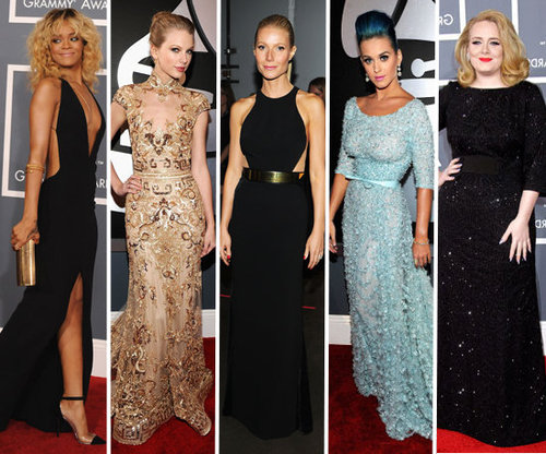 Best Dressed at Grammy Awards 2012