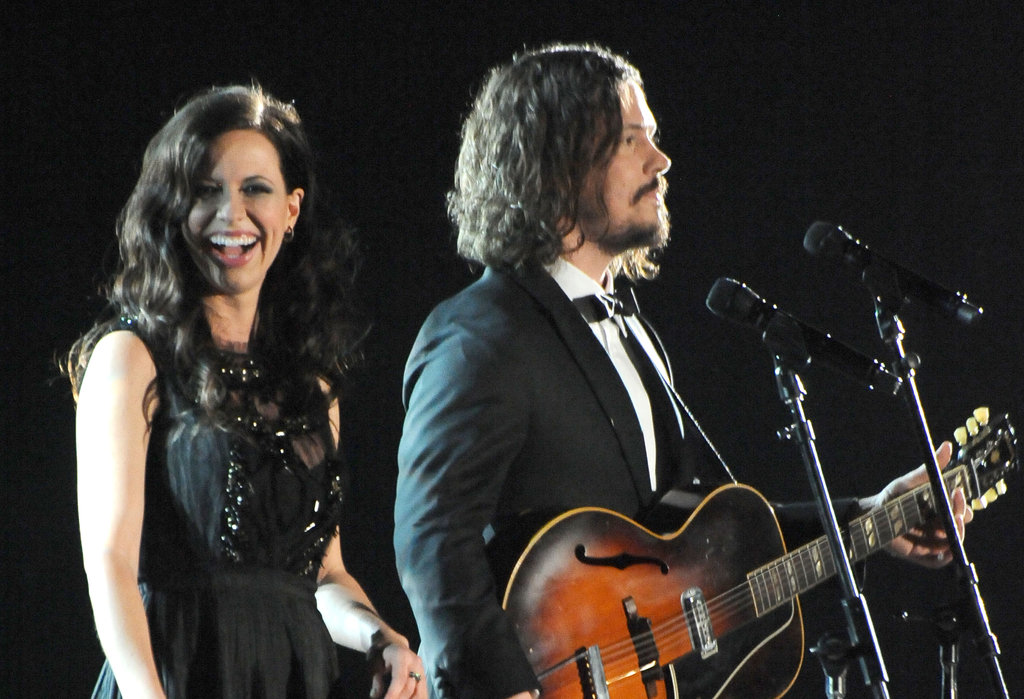 Joy and John Paul of The Civil Wars performed at the 2012 Grammys.
