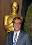 Aaron Sorkin at the 2012 Oscar nominees lunch.