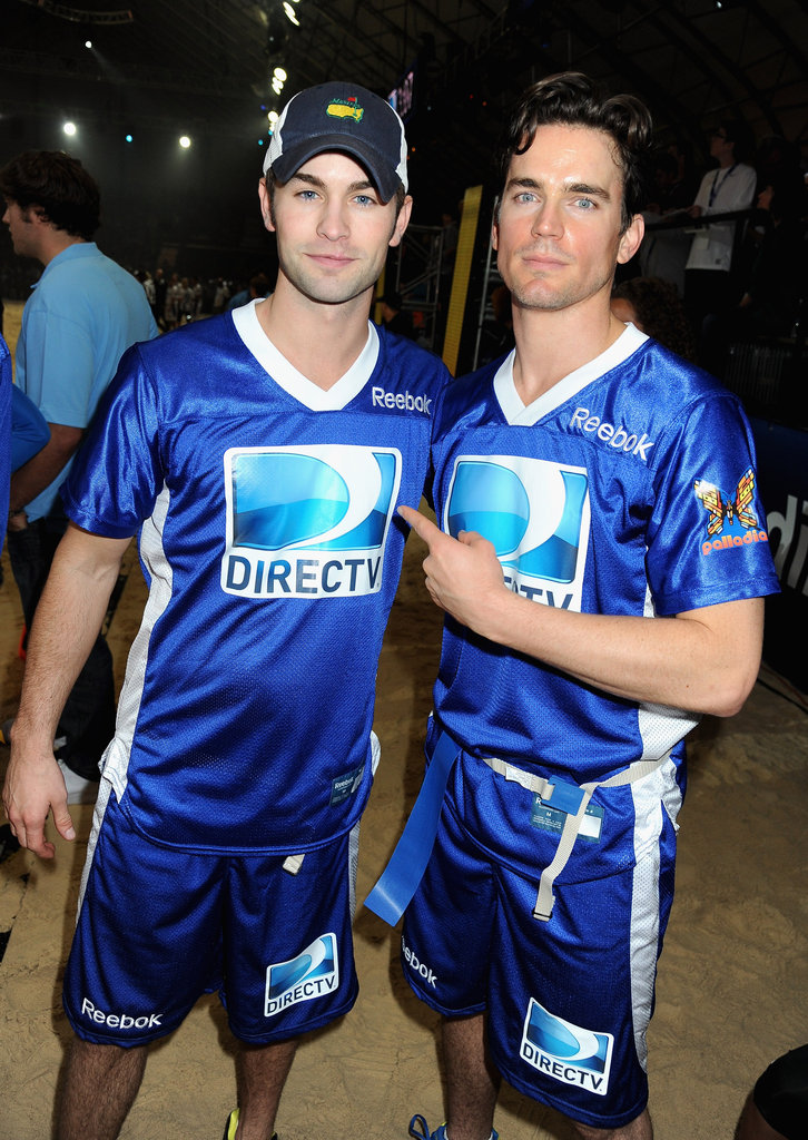 Chace Crawford and Matt Bomer