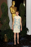 Michelle Williams in Victoria Beckham at the 2012 Oscar nominees lunch.