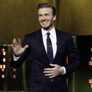 David Beckham Jonathan Ross Show Pictures