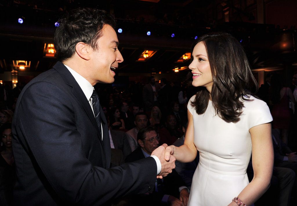 Jimmy Fallon and Katharine McPhee