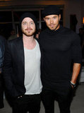 Aaron Paul and Kellan Lutz