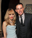 Rachel McAdams and Channing Tatum at The Vow afterparty.