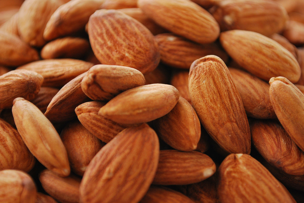 Snack: Almonds