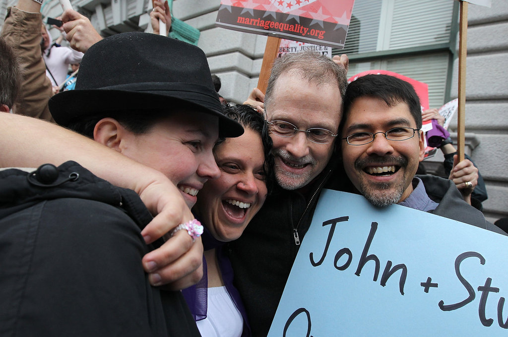 Gay Marriage Supporters Cheer as Appeals Court Rules Prop 8 Is Unconstitutional